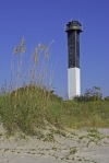 Sullivans Island Light House and Seaoats