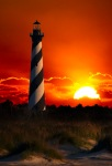 Cape Hatteras Light House at sunrise...