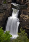 Lower Linville Falls as seen from the Chimney view.