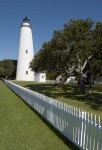 Ocracoke Lighthouse on Ocracoke Island in the Outer Banks