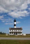 Bodie Island Light House and keepers house...