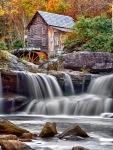 Canon EOS 7D _1414-1416 Glade Creek Mill NIK HDR