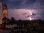 Tybee Island Lightning Strike