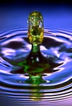 High Speed Water Drop Collision:  THE ALIEN