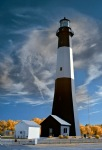 Tybee Island Lighthouse in Infrared