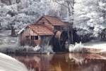 Mabry Mill, Infrared