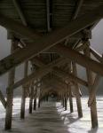 Pawleys Island Pier, Hurricane Hannah, Infrared