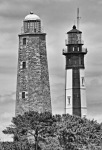 Two Lighthouses at Cape Henry...