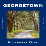Blueberry Wine Label, Georgetown Version , and it tastes great!