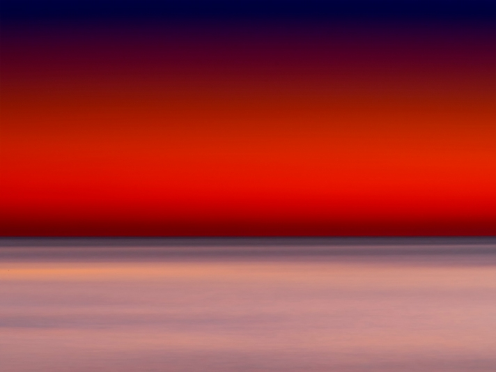 Long Exposure Sunrise Abstract