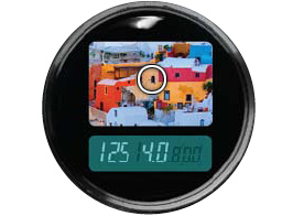 Meter Viewfinder showing the target and measured values. The meter button is just below this.