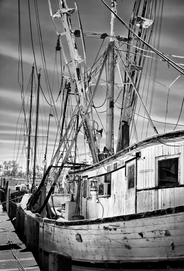 The Working Boat, 630nm Infrared