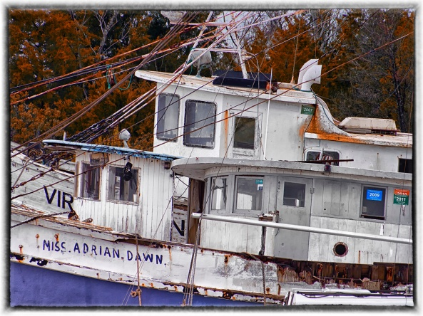 The Boat Graveyard and the 3 Wheel Houses...