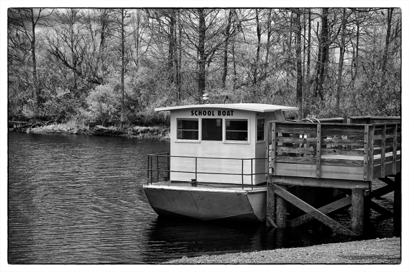 SC School Bus Boat, X Pro 1 720nm IR