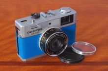 My Custom Olympus 35 RC Film Camera, one of dozens of film systems I shoot.