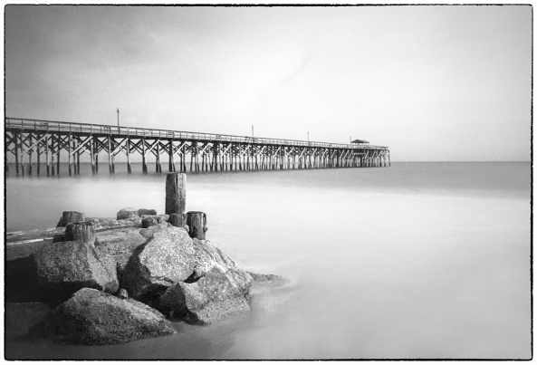 Pawleys Pier  M7 Elmarit 28  Rollei IR400 film in Rodinal at 1:50