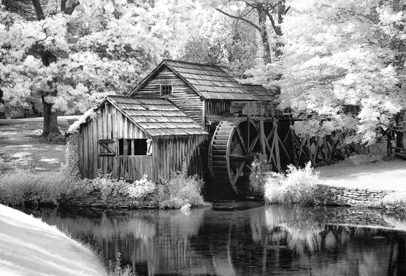 Mabry Mill, 830nm