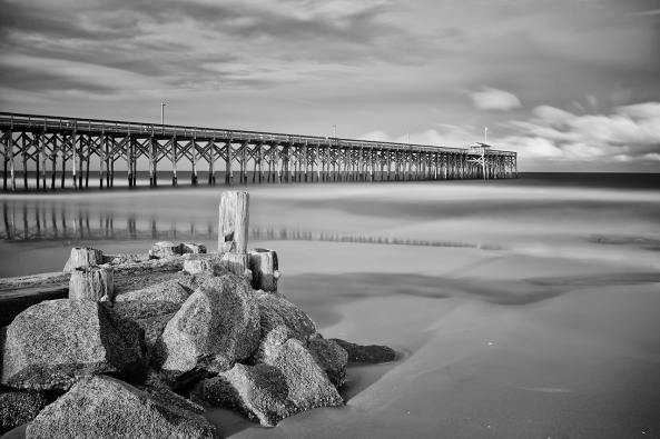 Pawleys Pier, 830nm 300 seconds, f/16, ISO 200