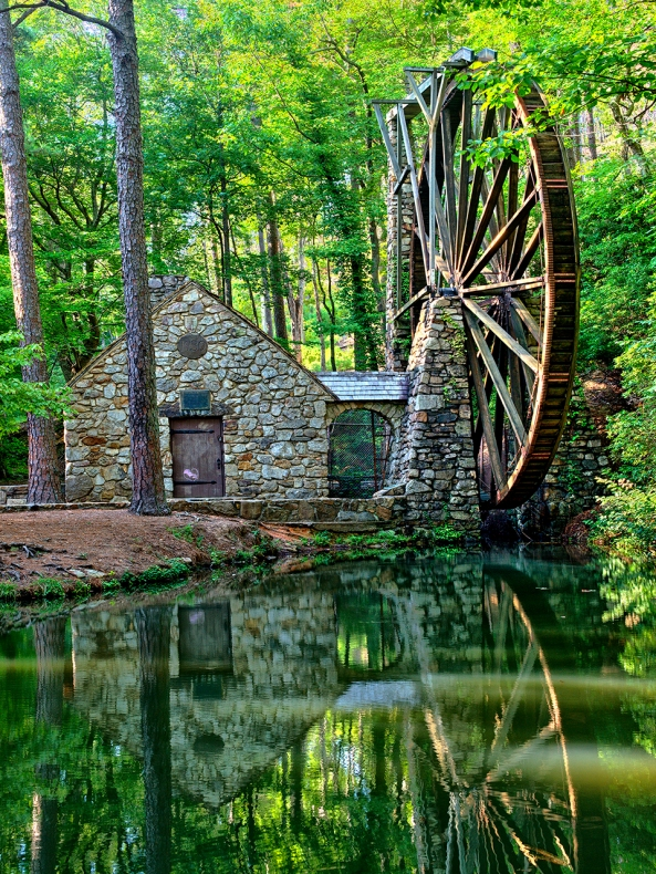 Berry College Mill... Nik HDR EFX Pro as Smart Object