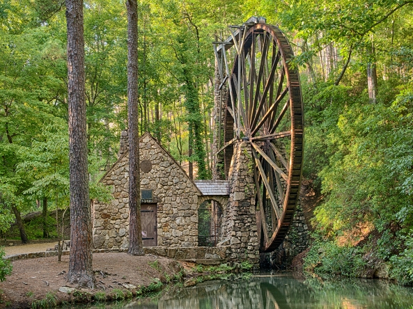 Berry College Mill... Nik HDR EFX Pro Layered