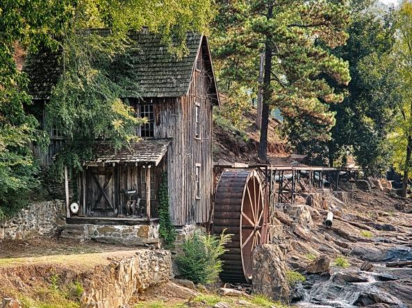 Greshams Mill, Photomatix Pro 5 Photo Real