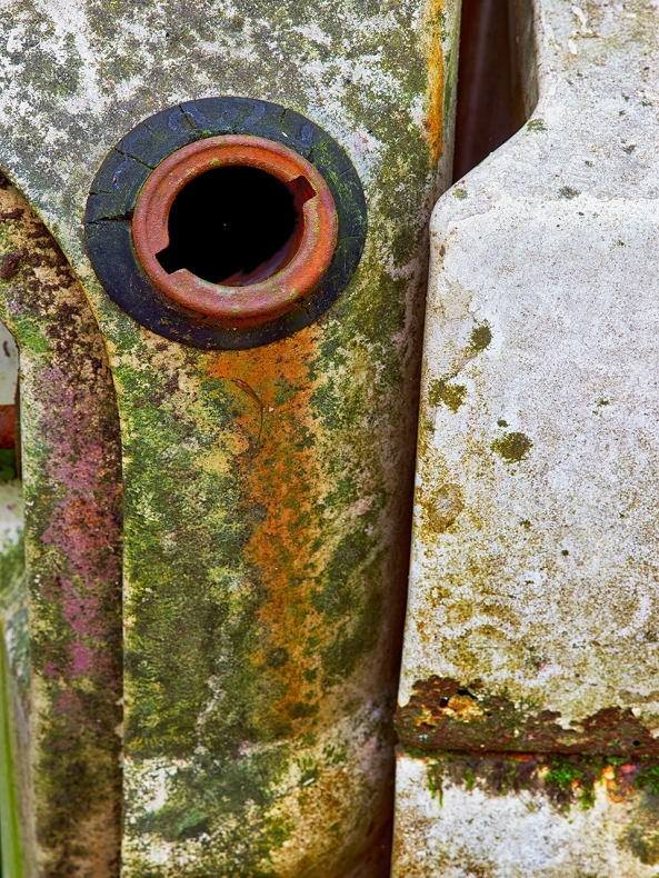 The Gas Cap... Leica M 240 w/ Macro Elmar M f/4 lens, Topaz Impressions:  Pointillism 1