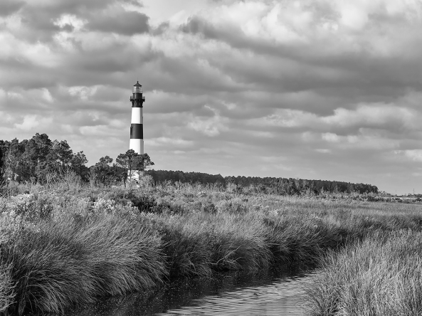 Bodie Island Light, M Monochrome