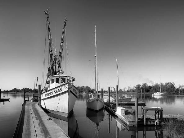 Stormy Seas... Calm Dock...