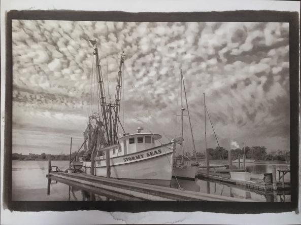 Van Dyke Brown, Stormy Sky, Cot 320 Paper