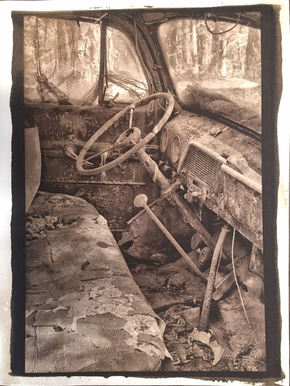 Van Dyke Brown, The Old Truck, Rising Stonehenge Paper