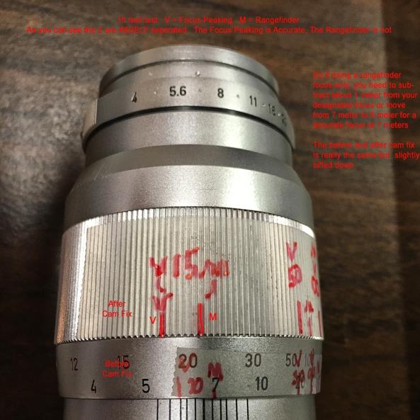 7 Meter Focus Test Leica 135mm