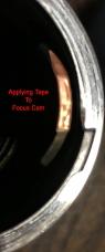 Tape Application Leica 135mm