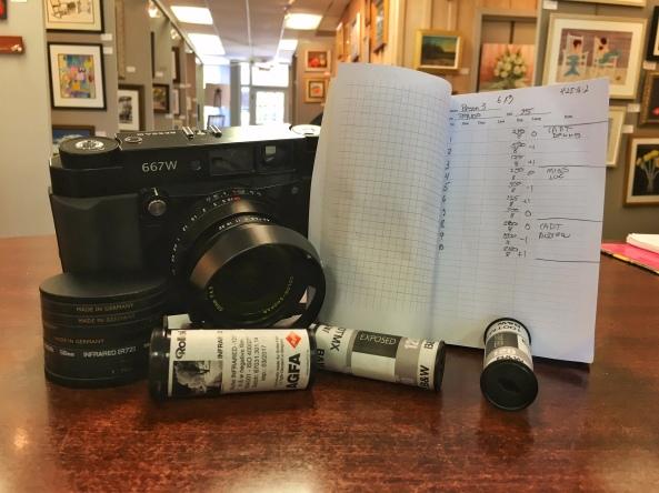 Voigtlander Bessa IIIw 120mm camera system