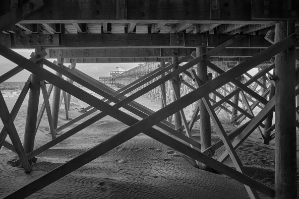 Fuji X100s, 850nm Kolari AR conversion - Under Foley Pier
