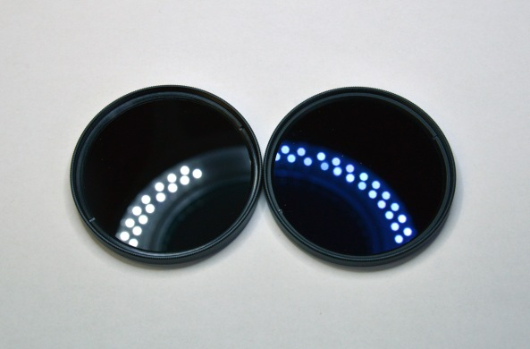 AR coating tests on BLUE light