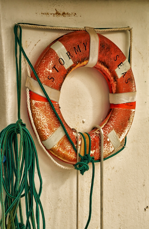 Stormy Seas Life Ring