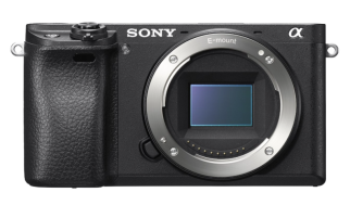 Sony A6300 Front View