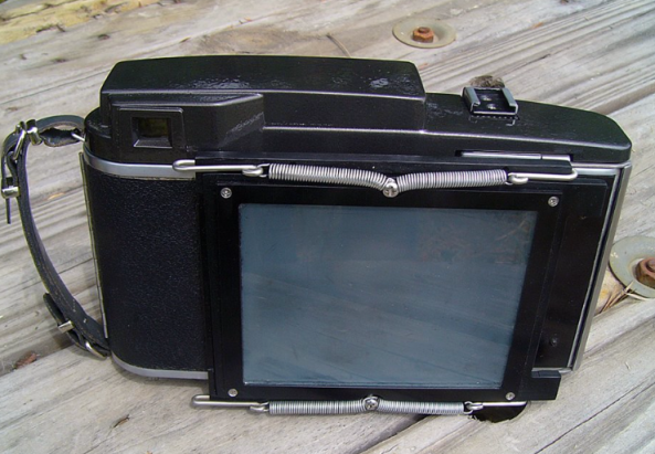4x5 Film Back