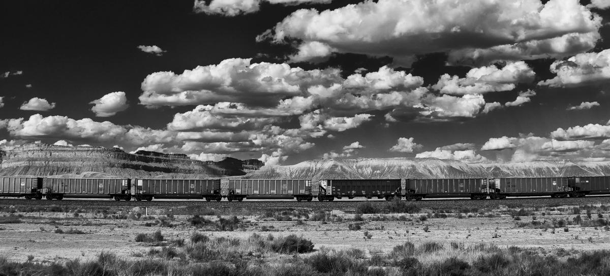 High Desart Train Pano