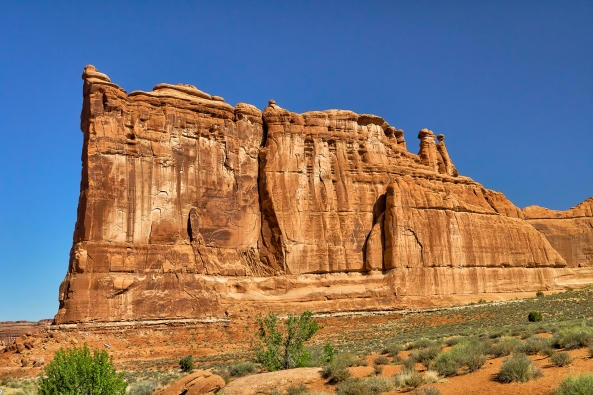 Courthouse Rock, Arches