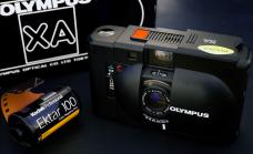 Olympus XA 135mm